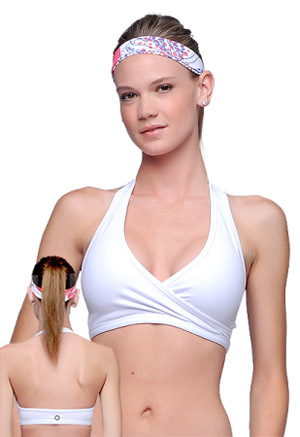 Backless Halter Sports Bra is Solution to Bra Woes | Palm Beach ...