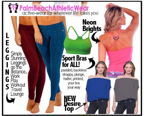 Shop the best selection of fitness fashions and sexy activewear to keep you looking fit and fabulous, no matter where your busy day takes you.