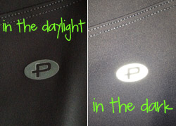 Reflective Details on Protokolo Activewear