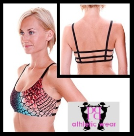 Sexy Sports Bra in Cobra Print!