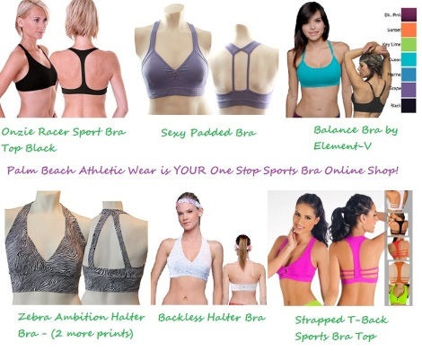 best selection of sports bras