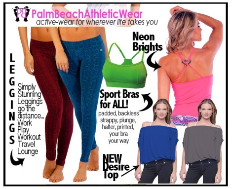 Palm Beach Athletic Wear - Activewear for Wherever Life takes YOU!