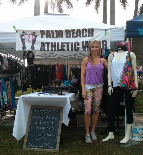 Palm Beach Athletic Wear at Yoga Day 2013