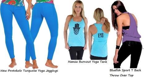 new yoga wear