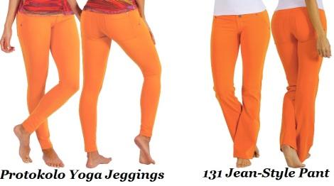 Protokolo Activewear -Orange Pop of Color!