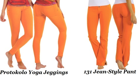 Protokolo Activewear -Orange Pop of Color!
