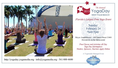 Visit PalmBeachAthleticWear.com on Yoga Day, 2013!