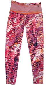 Fire Print Leggings - Go For It Fitness Pants!
