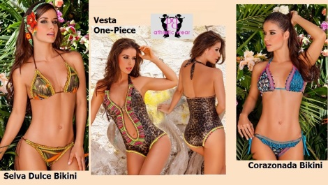 Super Sexy Protokolo Swimsuits -Perfect for Spring Break!