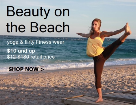 Bluefish Sport and Protokolo Activewear on the Beach