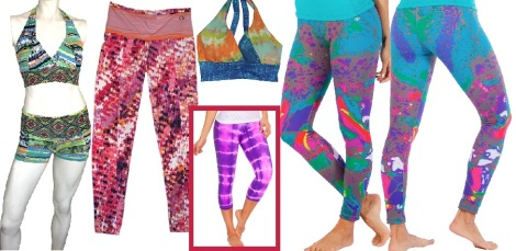 NEW! Printed Fitness Wear -Perfect for Yoga & Workouts!