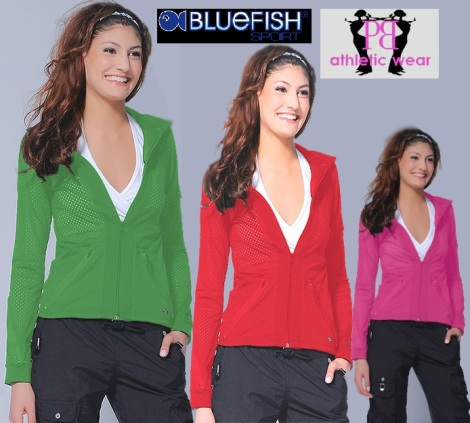 Cosmo Jacket from Bluefish Sport -Now Available in Lime, Red & Pink!