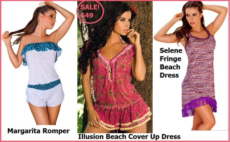 Beach Cover ups that look great on the beach and beyond!