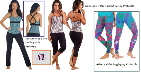 Fitness Fashions that allow you to be who you want and look your best when doing so!