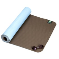 Kulae tpECOmat™ All Style 3mm Yoga Mat in Chocolate & Sky