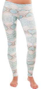 White Cobra Hot Yoga Leggings