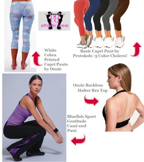 Upgrade your workout apparel with these Classic & Fun Fitness Looks from Palm Beach Athletic Wear