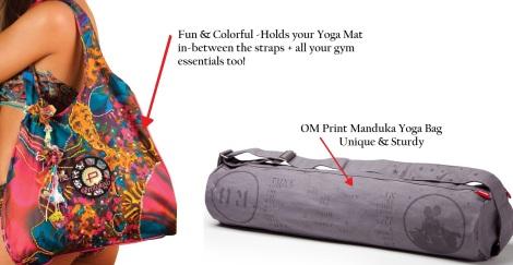 Protokolo Activewear & Manduka Fitness Bags