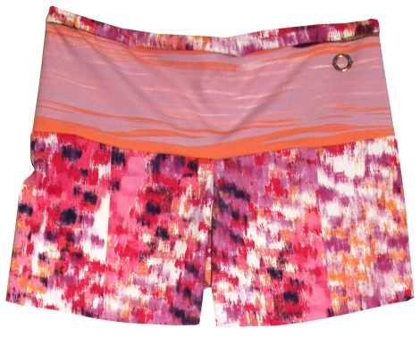 Go For It Short - Fire Print Fitness Shorts