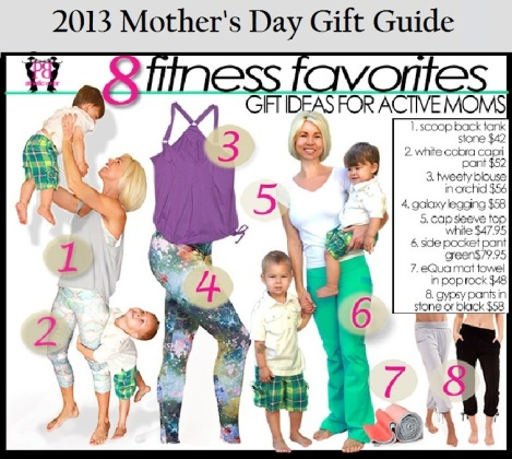 Mothers Day Fitness Gift Ideas