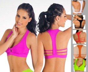 T Back Sports Bra Top