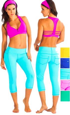 Protokolo Activewear's One Three Eight Capri Pants