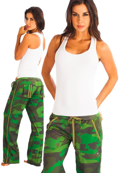 Protokolo Activewear NEW Fitness Cargo Pants in HOT Camouflage!