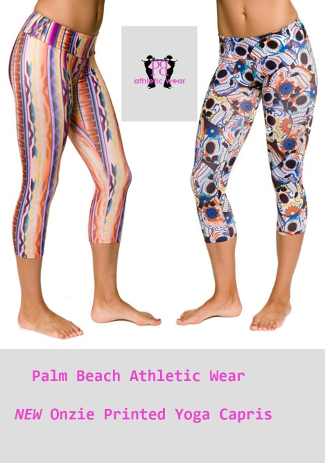 NEW! Printed Onzie Yoga Capris