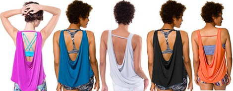 Scoop Back Tank