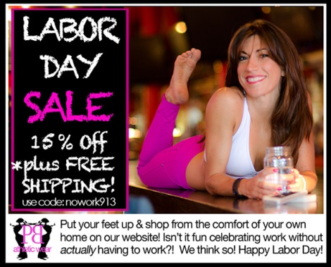 Save 15% at PalmBeachAthleticWear.com in our Labor Day Sale.