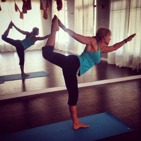 Dancers Pose, Yoga Pose of the Week