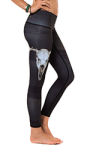 teeki leggings are made from recycled water bottles.
