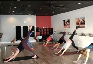 PiYo® - the muscle-sculpting, core-firming benefits of Pilates with the strength and flexibility of Yoga.